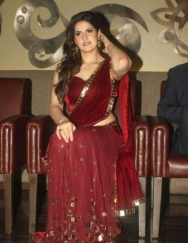 Zarine Khan at The India Wedding Lounge