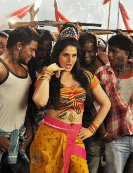 Zarine Khan In Naan Rajavaga Pogiren Shooting